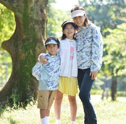 子どもの肌と健康を守るサンブロックメッシュパーカー