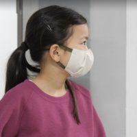 UVカットマスク 子供用 特許申請中